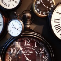manage your time. clocks