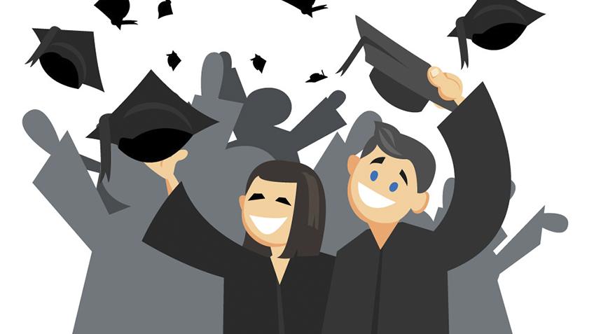 students, graduation, college